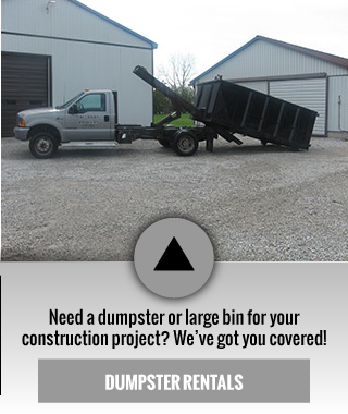need a dumpster or large bin for your instruction project? we've got you covered! | dumpster rentals