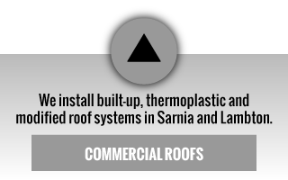 we install built-up, thermoplastic and modified roof systems in sarnia and lambton | commercial roofs